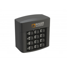 Selector digital radio Roger Technology H85/TDR/E, 4 canale, IP 54 - sistemeporti.ro